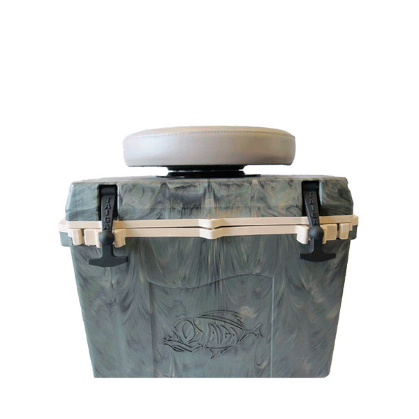 Taiga 174 27 Quart Cooler W Swivel Seat Precision Powder
